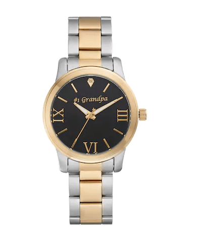 #1 Grandpa Wrist Watch - 70th Birthday Gift Idea