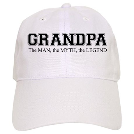 Grandpa The Man The Myth The Legend Hat - 70th Birthday Gift