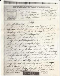 Letter Home 1943-12-05