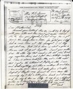 Letter Home 1943-12-12