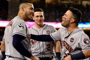 Astros win first world series in team history!