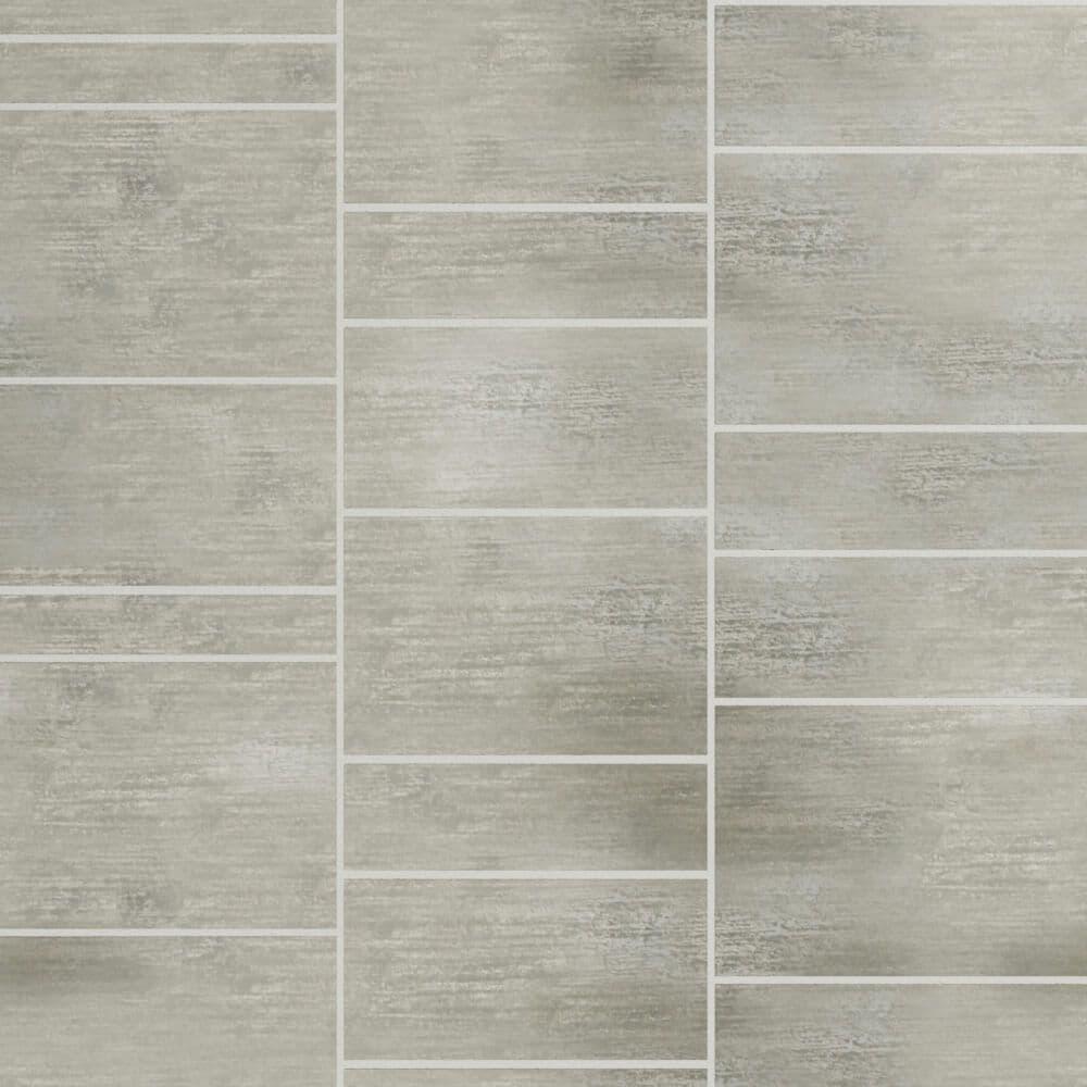 grey stone tile effect pvc cladding bathroom shower wall panels w600mm x h2400mm shower board