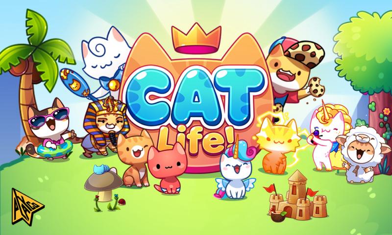 PlaycoのゲームCat-Lifeのイメージ図