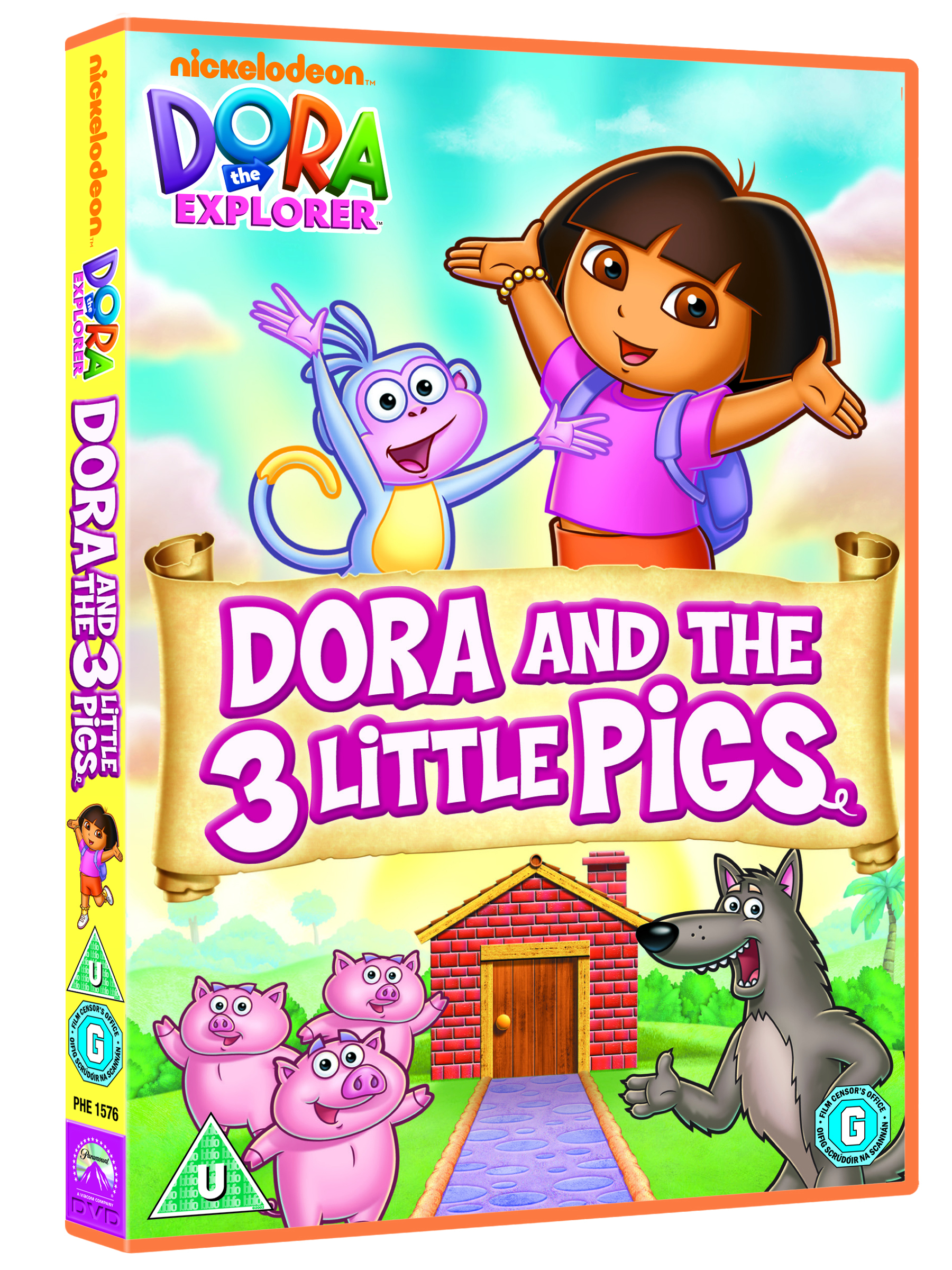 Dora The Explorer Dora And The Three Little Pigs Dvd C