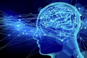 いろいろな情報が脳に飛び交うイメージ画像