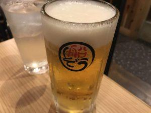 ふなぞうの生ビール