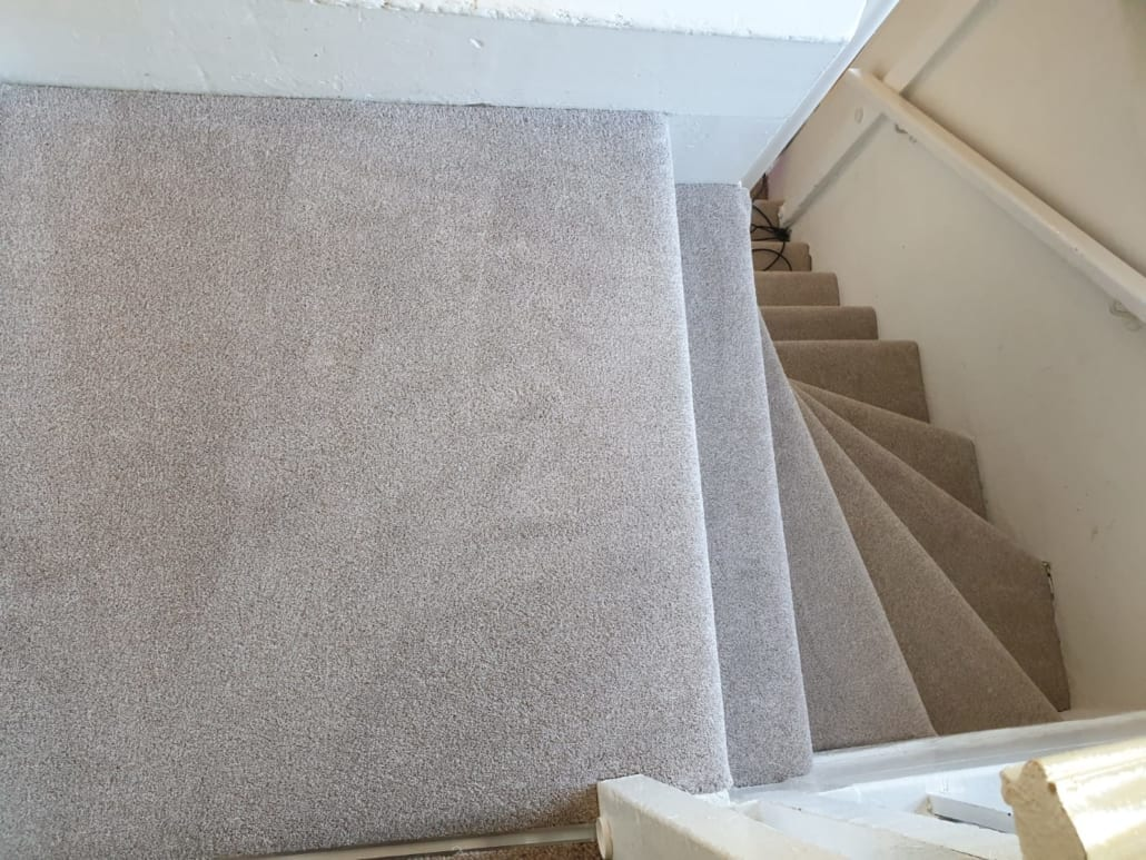 Beige Stairs And Bedroom Carpet Markyate From Condor Carpets Herts Carpets