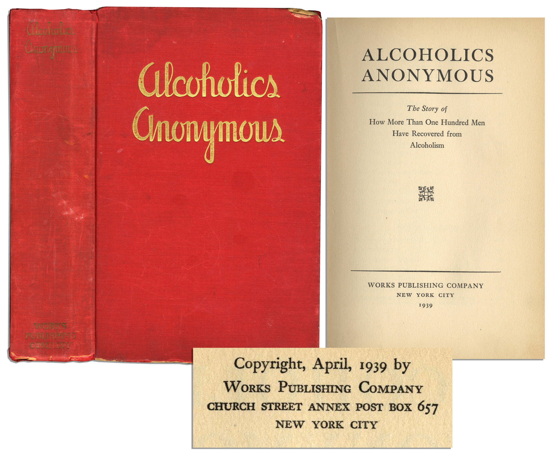 Free Appraisal Alcoholics Anonymous First Edition Worth 30 000