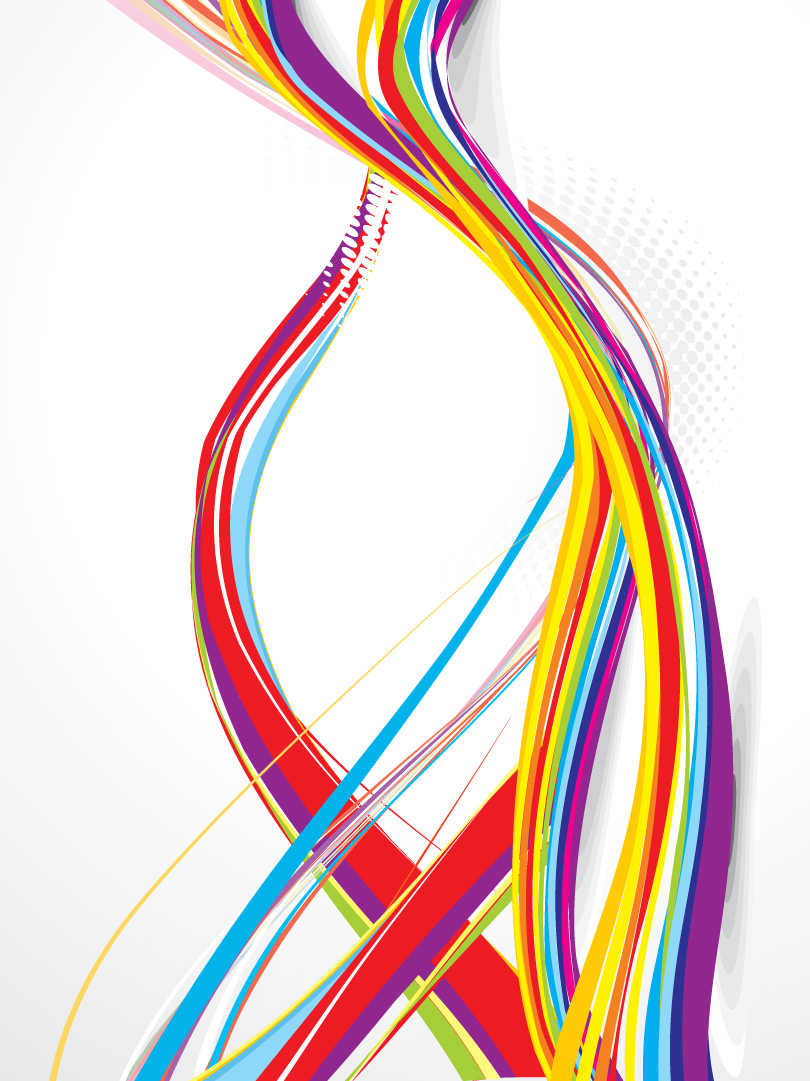 dynamic curve free vector graphic download