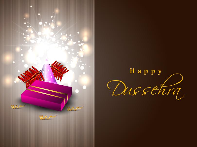 Dussehra Firecrackers Gift Vector Free Vector Graphic