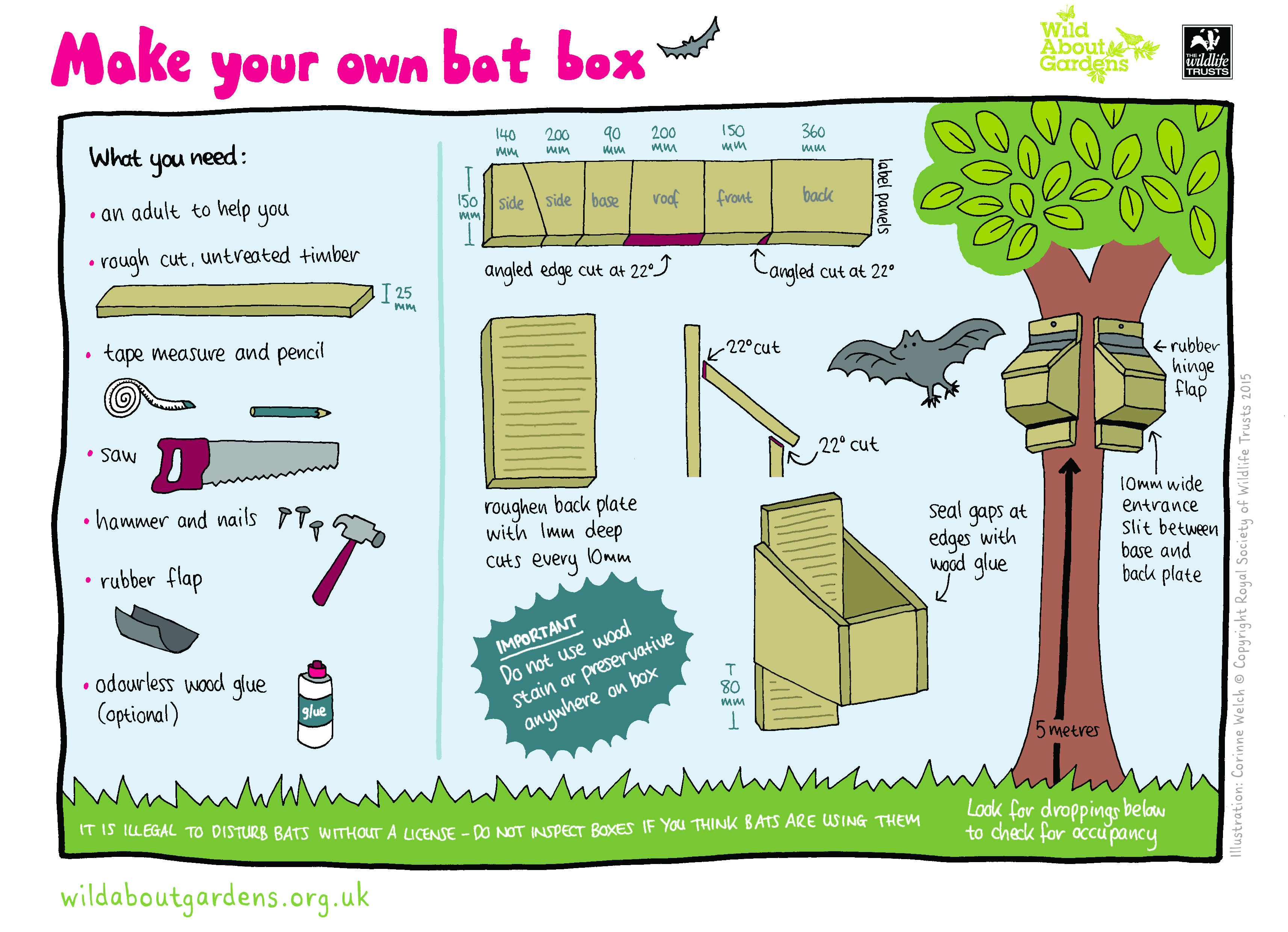The Dabbling Crafter Diy Bat Boxes For Kids