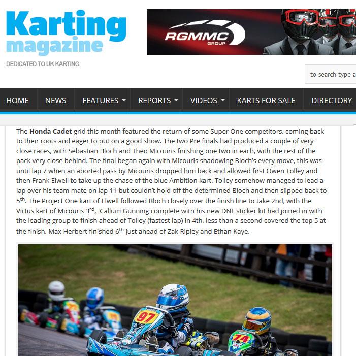 Bayford Meadows Kart Club Summer Championships Round 6 Report