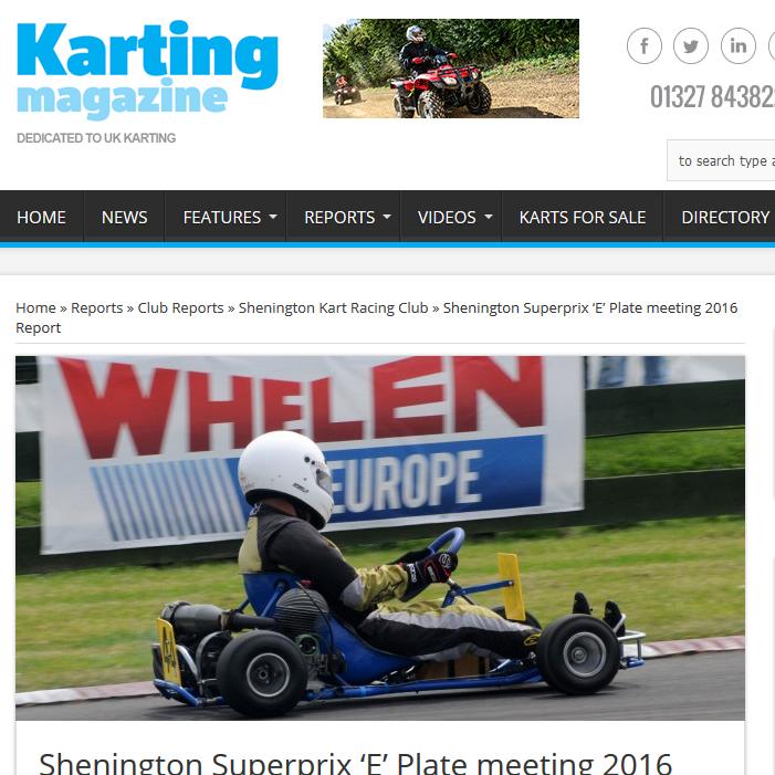 Shenington race report