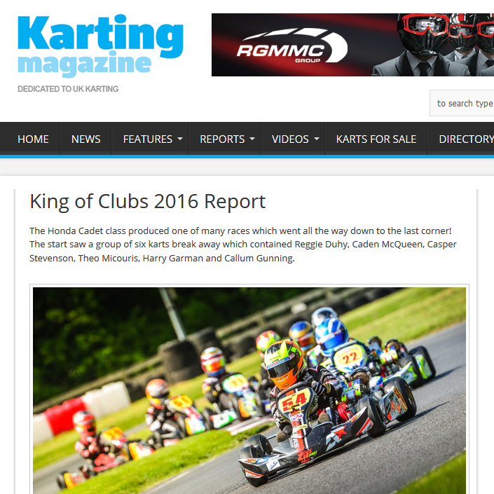 Karting Magazine race report King of Clubs