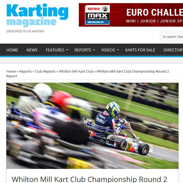 Whilton Mill Kart Club Championship Round 2 Report