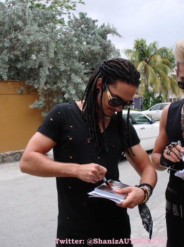 NOUVELLES PHOTOS DU JURY DE DSDS A CARACAO 12.11.2012