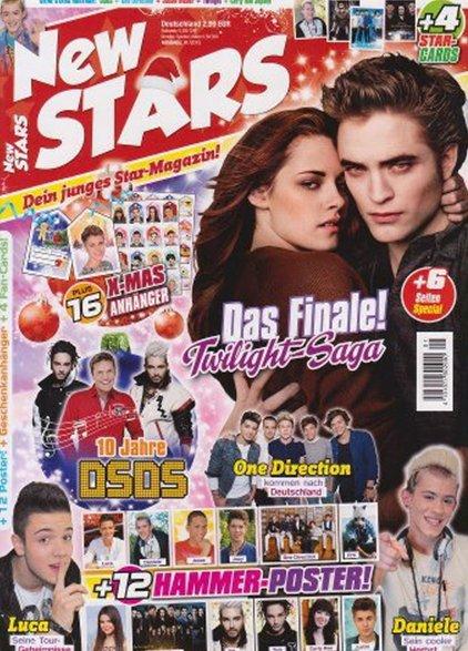 NEW STARS Magazine- ( Allemagne )