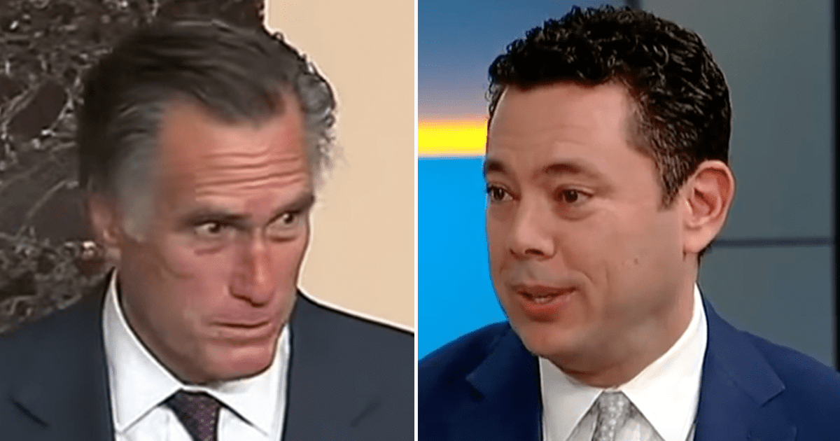 """WATCH: """"Yeah I would"""" Chaffetz open to challenging for Romney's Utah Senate Seat"""