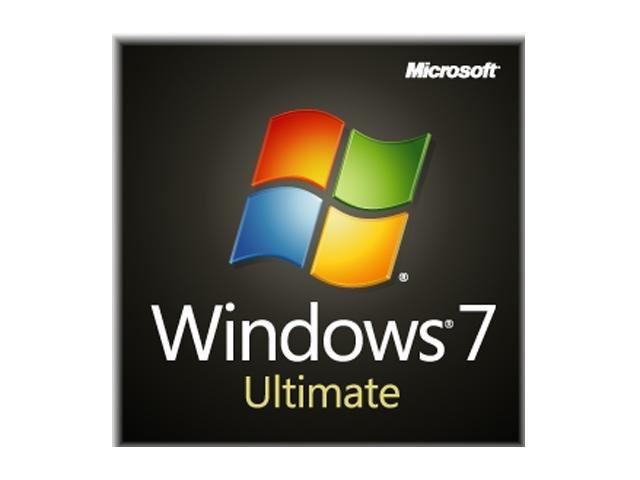 Microsoft Windows 7 Ultimate Operating System Software