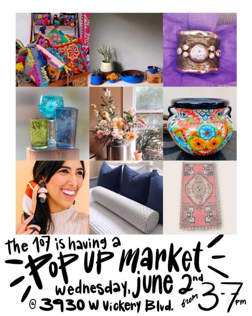 Pop Up Market For Local Artists in Fort Worth, Texas