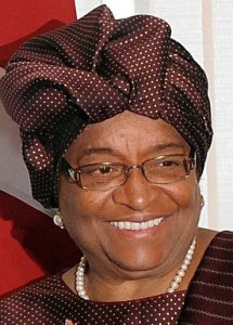 Liberian president Ellen Johnson-Sirleaf would veto anti-gay bill.