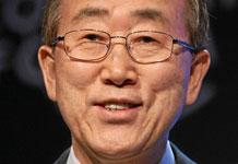 Gay rights advocate and U.N. Secretary-General Ban Ki-moon