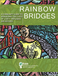 "Cover of ""Rainbow Bridges"" manual. (Photo courtesy of ORAM)"