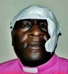 This photo accompanied stories about allegedly beaten pro-gay bishop in Kenya.