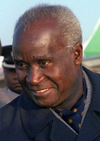 Kenneth Kaunda in 1983. (Photo via Wikimedia)