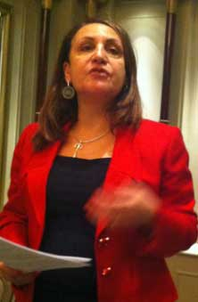 Marina Yannakoudakis, member of the European parliament from London