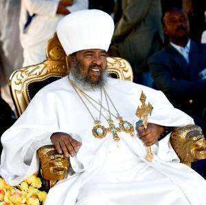 Abune Paulos, patriarch of the Ethiopian Orthodox Church (Photo courtesy of Antiochan.org)