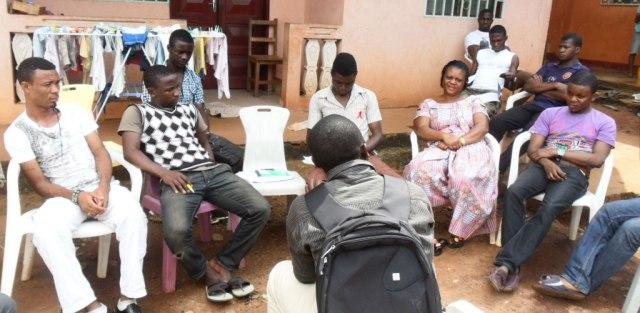 CAMFAIDS discussion on World AIDS Day.