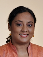 Ramona Ramdial, minister and member of parliament in Trinidad