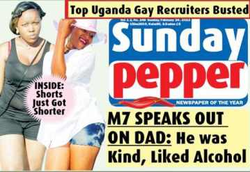 "The Sunday edition of the Ugandan tabloid Red Pepper claims that it has published a list of ""Top Uganda Gay Recruiters."""