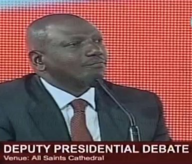 William Ruto, deputy vice presidential candidate in Kenya, claims that the Bible equates homosexuals and dogs. (Click image for video)