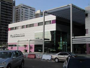NYU's campus in Abu Dhabi