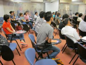 "Social service professionals attend the program ""Understanding the LGBTQ Community in Singapore"""