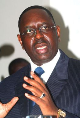 Macky Sall (Photo courtesy of Wikipedia)