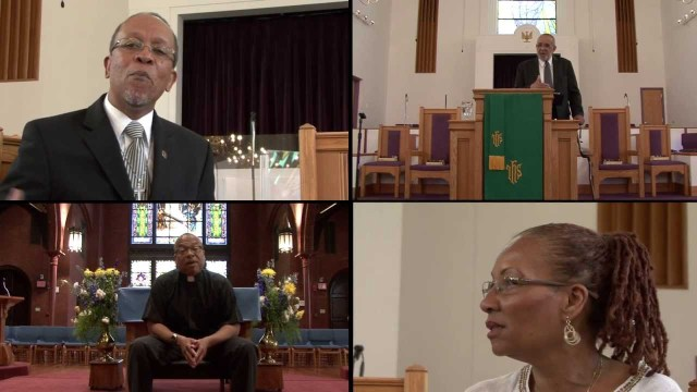 "In the film ""Love Heals Homophobia,"" heterosexual African- American clergy discuss their spiritual journeys that led them to understand the importance of loving, not hating, LGBT people. (Click on the image to see the trailer.)"