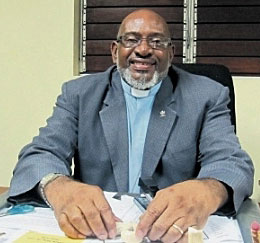 The Rev. Everald Galbraith, president of the Jamaica Council of Churches (Photo courtesy of Jamaica Observer)