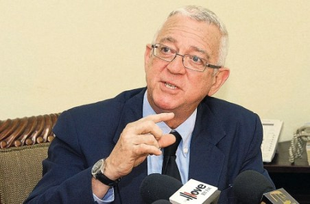 Ronald Thwaites, Jamaican minister of education. (Photo courtesy of the Jamaica Observer)