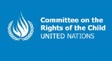 Logo of the U.N. Committee on the Rights of the Child