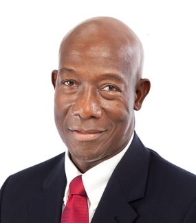 Keith Rowley, prime minister of Trinidad and Tobago (Photo courtesy of TechNewsTT.com)