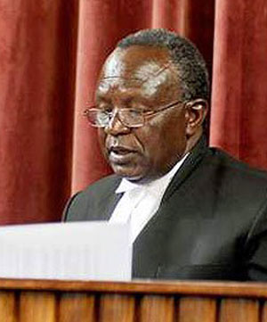 Mombasa High Court Judge Emukule (Photo courtesy of Nairobi News)