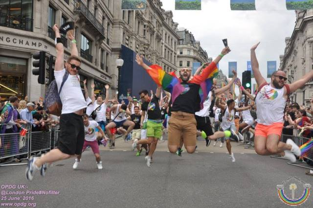 London Pride was also fun. (Photo courtesy of OPDG)