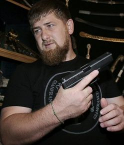 "Chechen President Ramzan Kadyrov denied the mass arrests of gay citizens, saying that ""such people do not exist."" (Photo courtesy of ABC News)"