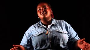 Njeri Gateru, head of legal affairs for the NGLHRC Kenyan LGBTI rights advocacy group. (Photo courtesy of YouTube)