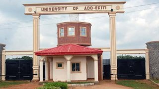 Entrance way to the University of Ado Ekiti in southwest Nigeria (Photo courtey of Facebook)