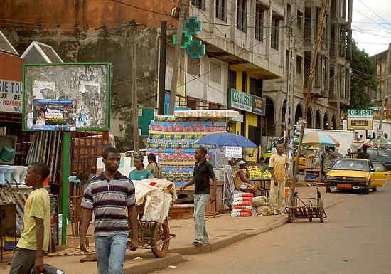 The Essos neighborhood in Yaoundé (Photo by 237online)
