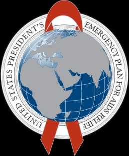 Logo of PEPFAR, the U.S. President's Emergency Plan for AIDS Relief.